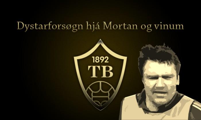 Mortan og Pætur gita um umfarið