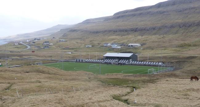 Búmerki til Ítróttardepilin við Stórá