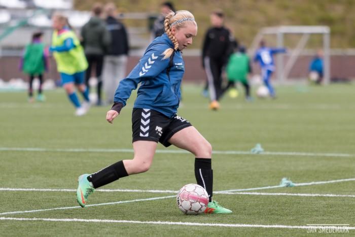 Kristin úttikin til U19 landsliðsvenjing