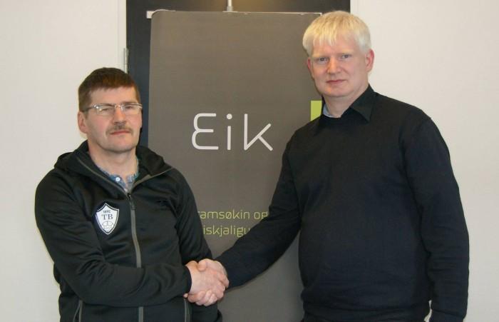 Stuðulsavtala gjørd við Eik