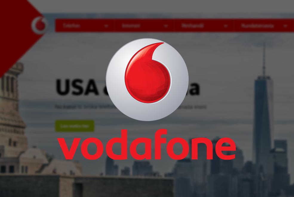 Vodafone stuðlar