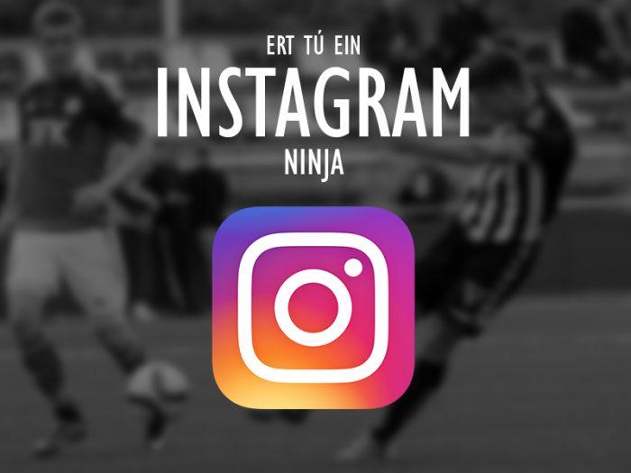 Er tú okra Instagram-ninja?