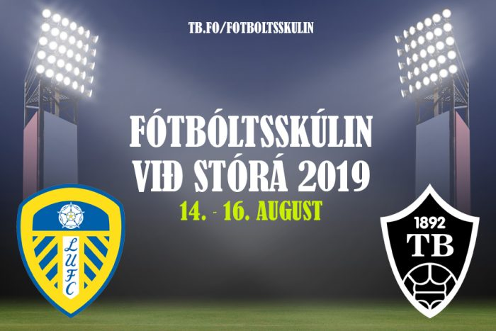 Fótbóltsskúlin við Stórá 2019